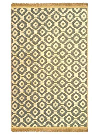 Giz Home Giz Home Boho Jüt 130X190 Cm Halı Geometrik Halı Renkli